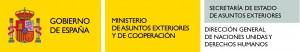 logo gobierno+maec+derechos humanos